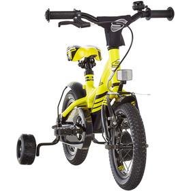 s'cool XXlite 12 legering Børn, yellow/black matt